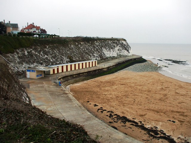 Dumpton Gap Bay in Broadstairs