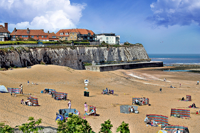 Joss Bay in Broadstairs