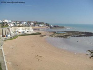 Louisa Bay in Broadstairs, on the way to Ramsgate