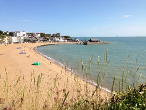 Vikiing Bay in Broadstairs