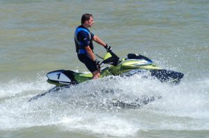 Jet Skier in Thanet waters