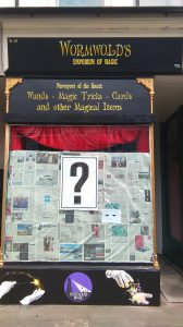 Wormwolds Magic Emporium in Broadstairs before they opened