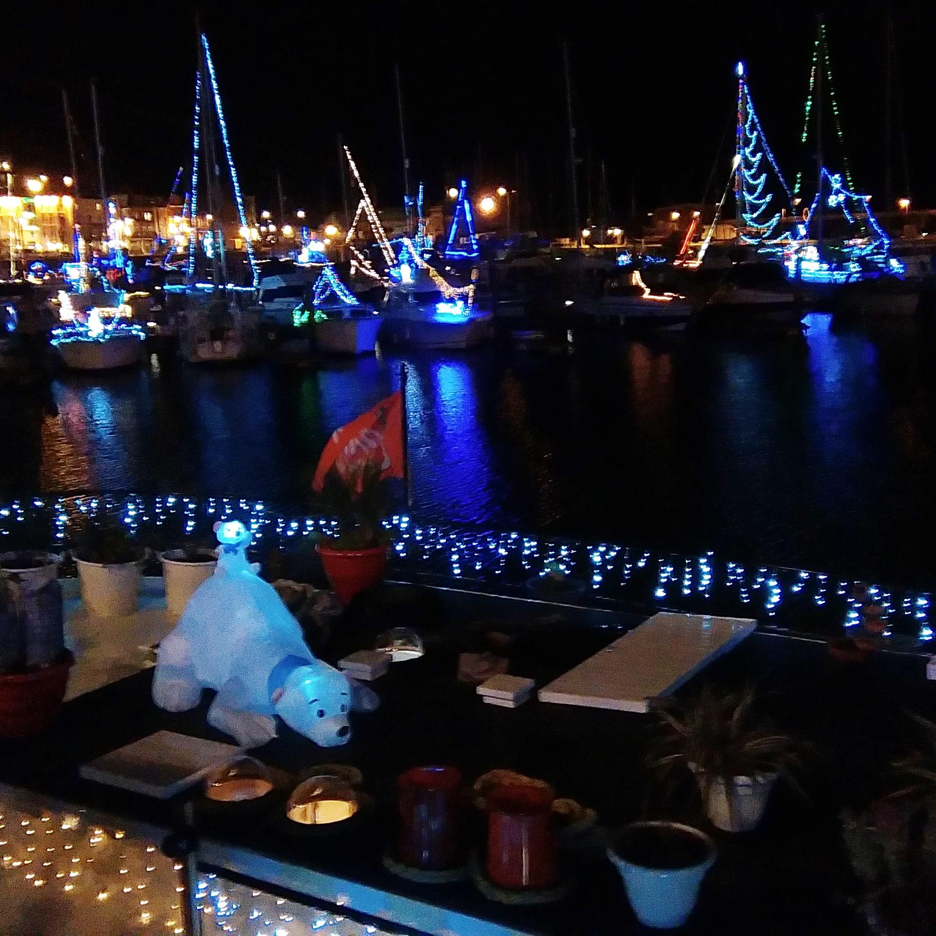 Christmas LIGHTS RAMSGATE Harbour