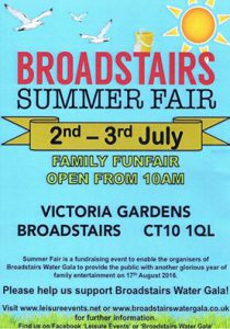 Broadstairs Summer Fair Poster