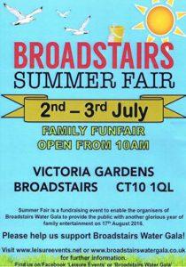 Broadstairs Summer Fair Poster