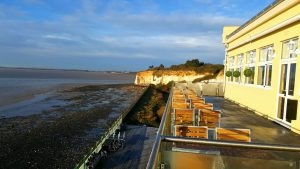 PEGWELL BAY HOTEL SEA VIEW RESTAURANT TERRACE