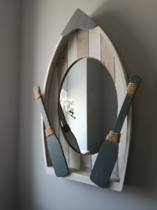 rowing boat mirror