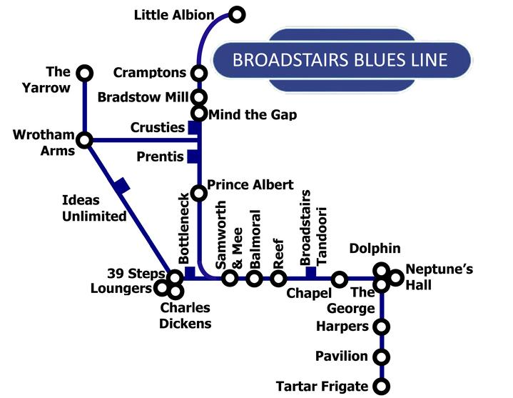 the Blues Line by Broadstairs Blues Bash