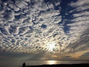 Sunset over Ramsgate Sands shared by Beeches Holiday Lets great outdoors blog post