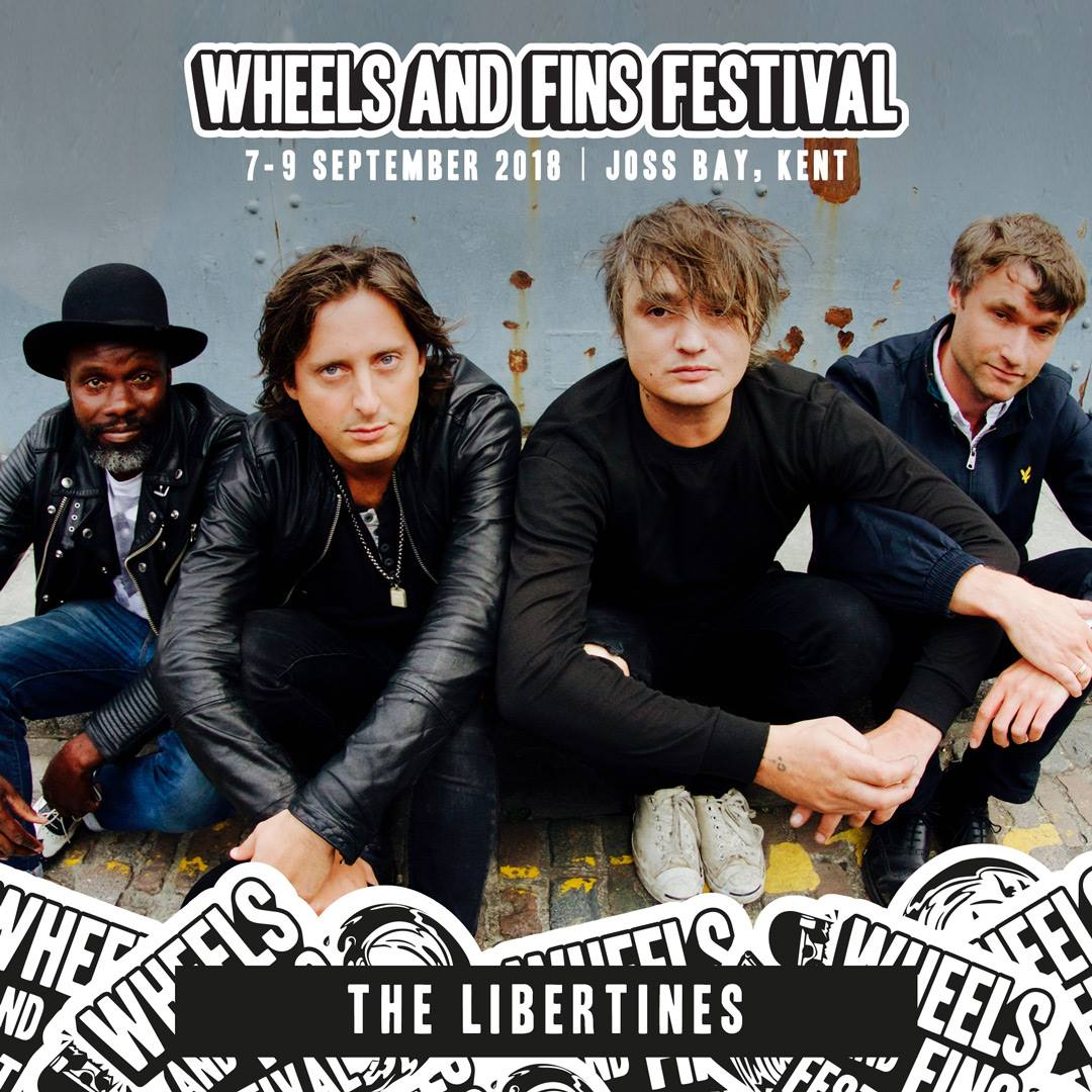 Wheels and Fins Festival 2018 7-9 September Broadstairs The Libertines, on Beeches Holiday Lets accommodation blog