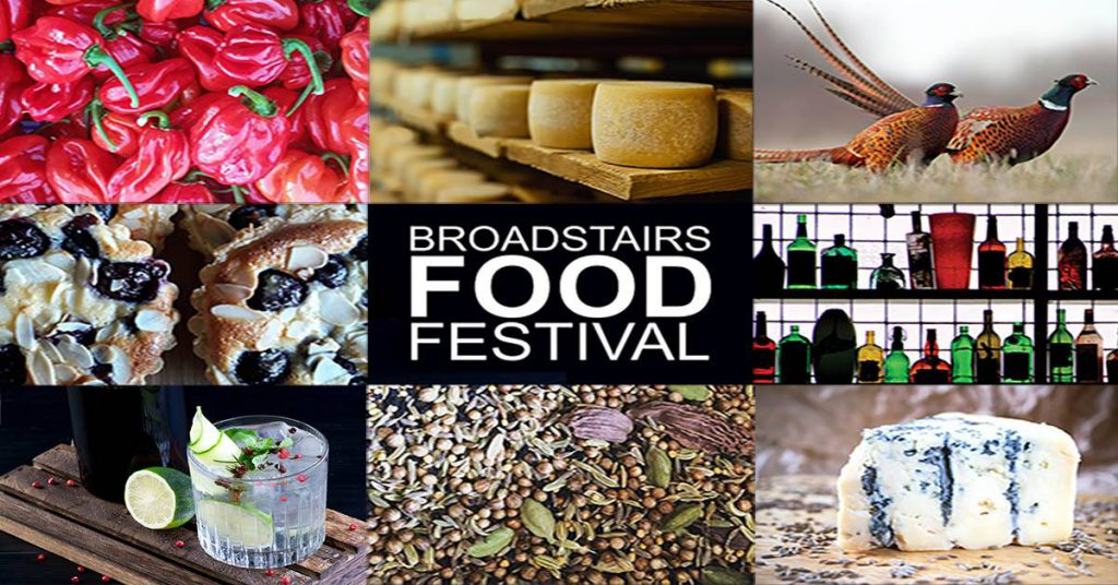 Flier for Broadstairs Food Festival