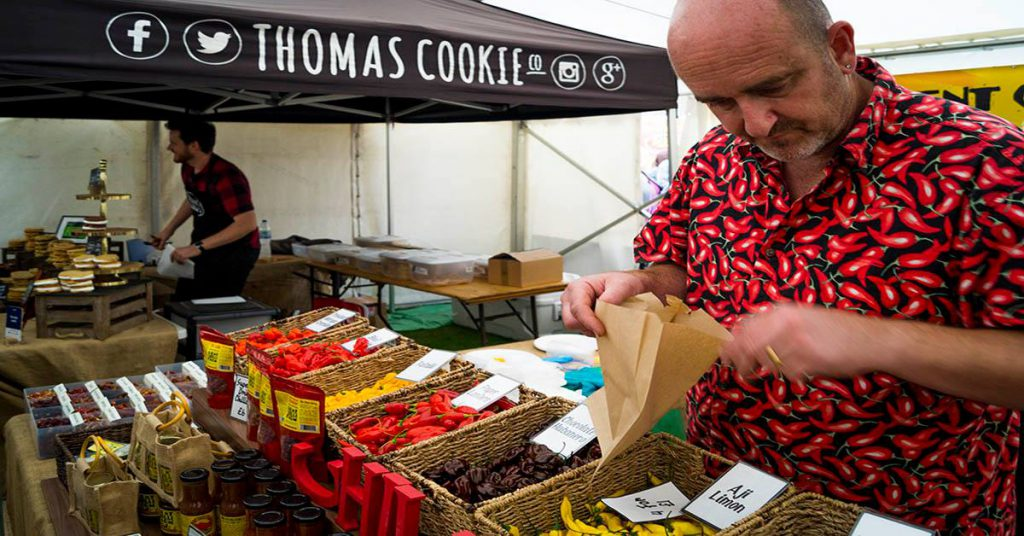 Chilli Stall at Broadstairs Food festival