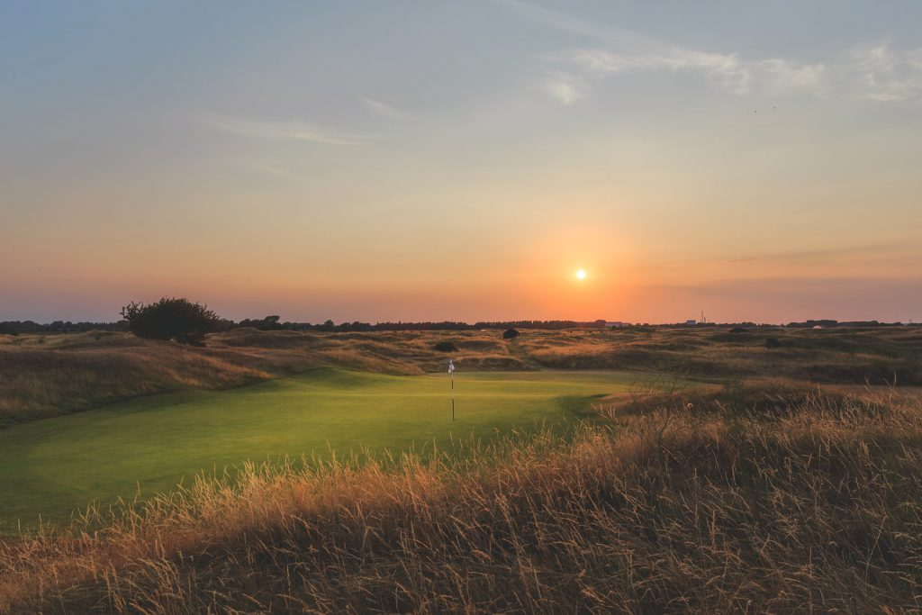 Royal St Georges golf club sunset 2020 Open blog post Beeches Holiday Lets accomodation providers