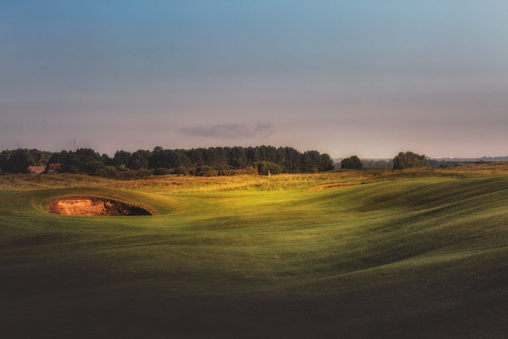 12th hole at Royal St Georges Golf Club, home of the Open 2020 on Beeches Holiday Lets accomodation blog